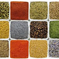 Seasonings in Pots & Jars